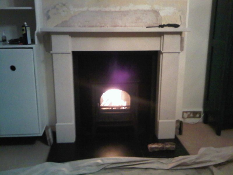 fireplace and stove installation in Grayshott