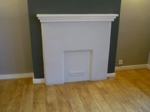 Before Ecoburn 5 Stove from Aarrow installation