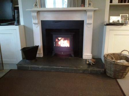 Beaumont stove installation in Andover, Hampshire
